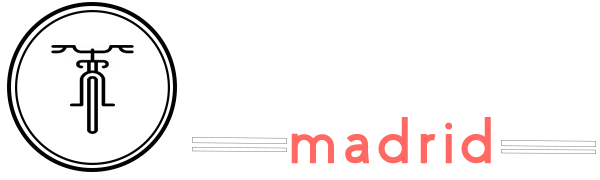 Fietstour Madrid Logo Wit